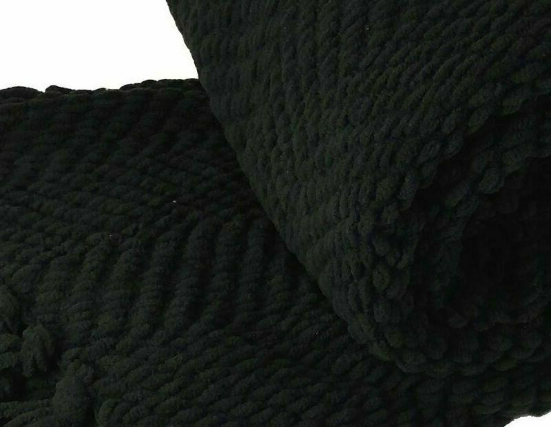 Home Soft Things Boon Knitted Throw Cover 50 X 60,
