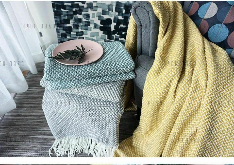 Home Soft Tweed Weighted Blanket