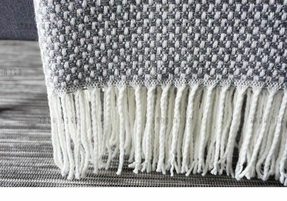 Home Knitted Tweed Weighted Blanket