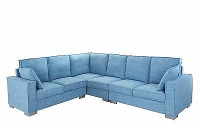 large fabric sectional sofa l shape couch