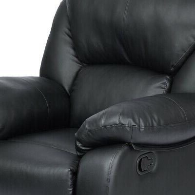 Leather Chair Single Couch Lounge