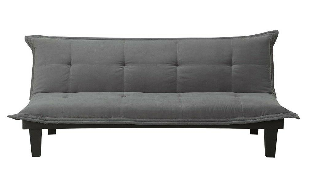 Dhp Lodge Couch Bed With Upholstery Legs