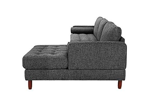 Divano Modern Sofa, Extra Wide Chaise