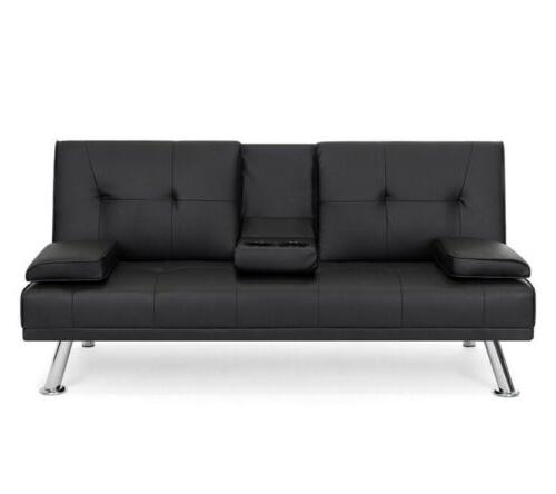 Modern Futon Fold Up Couch With Furniture