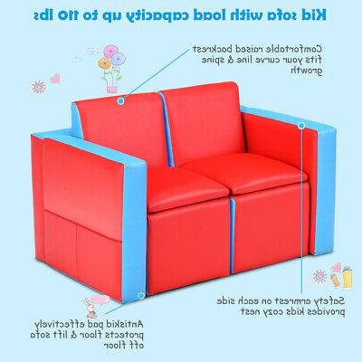 Multi-functional Table Chair Set Couch Box Furniture Bedroom