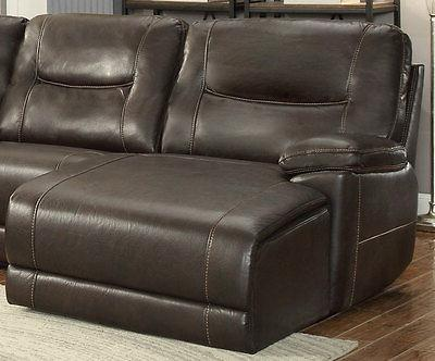 NEW 6pcs Living Room Faux Reclining Sofa Couch IF61