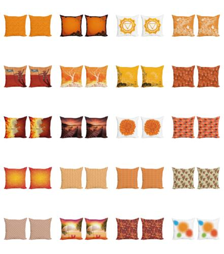Ambesonne Cushion Cover Set Couch 4