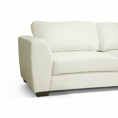 Baxton Sofa Set with Chaise