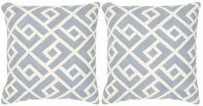 Safavieh Collection Pillows, 12 Swifty Periwinkle,