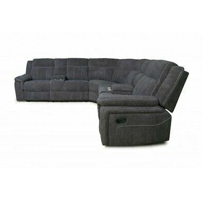 Reclining Motion theatre Sofa Couch Console