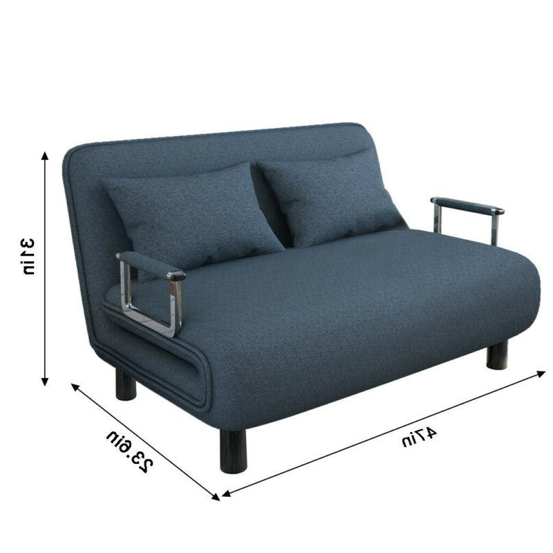 Sleeper Bed Couch Living Futon Loveseat Furniture