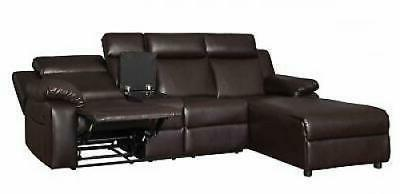 Small Space Recliner Sectional Couch Chaise Lounge