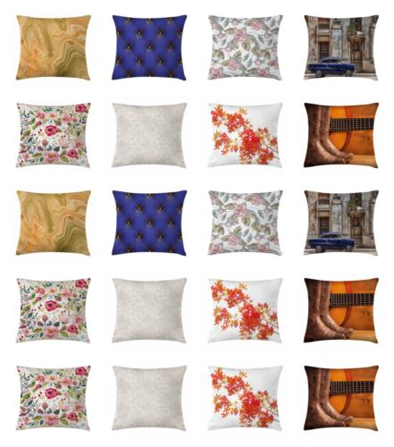 square throw pillow case for couch