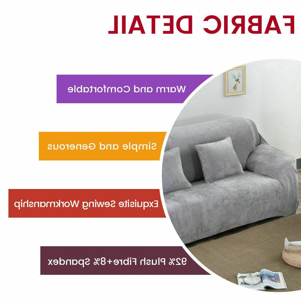 Stretch Thick Sofa Covers 1 4 Seater Couch Slipcover