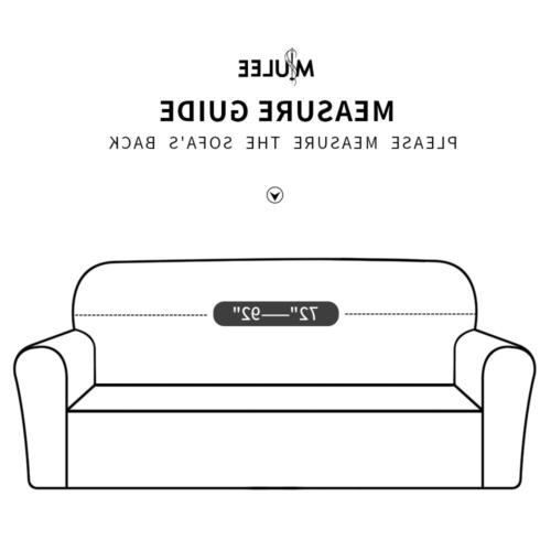 MIULEE Sofa Velvet Couch Fitted Sofa