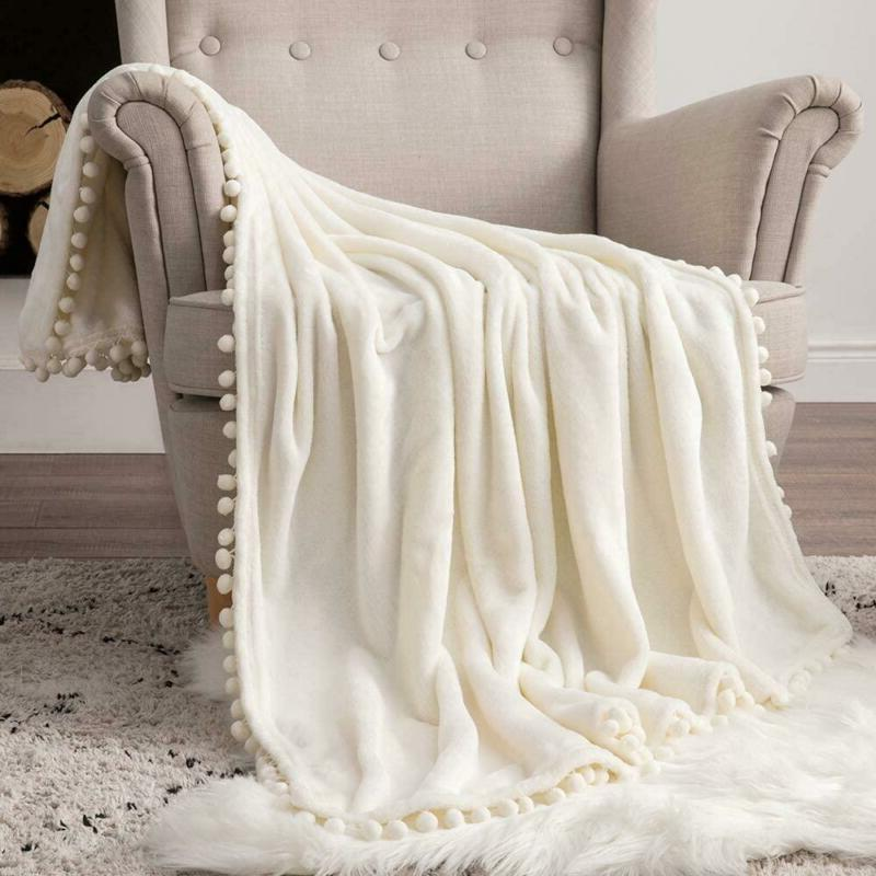 MIULEE Blanket Luxurious Couch Sofa F
