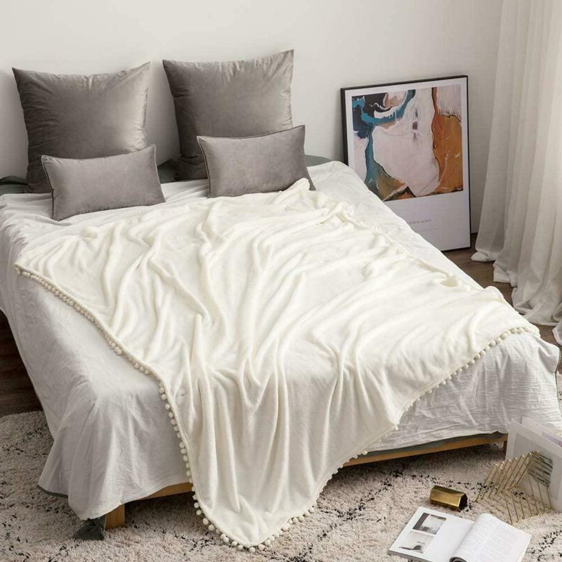 MIULEE Blanket for Couch or Sofa F