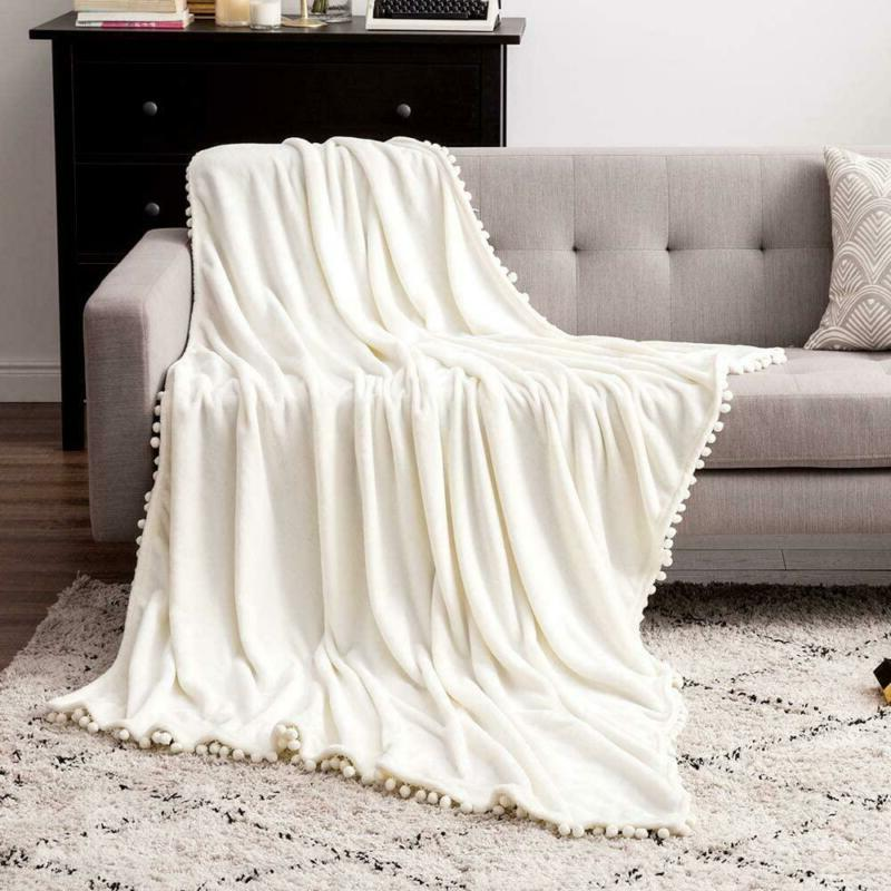 MIULEE Blanket Luxurious Couch or Sofa F