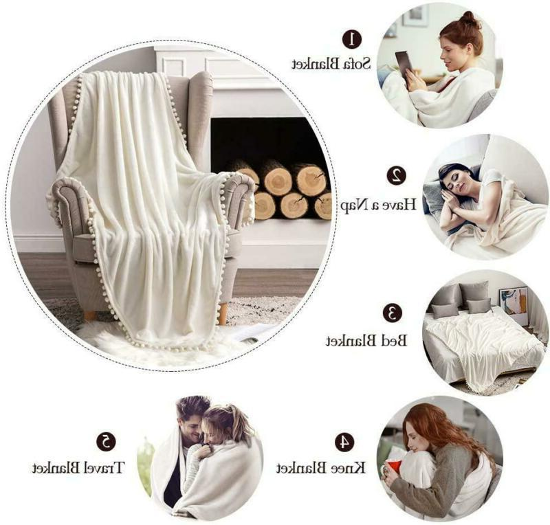 MIULEE Soft Blanket Couch F