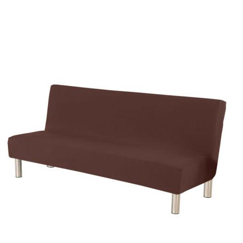Armless Sofa Slipcover Stretch Full Couch Cover USA