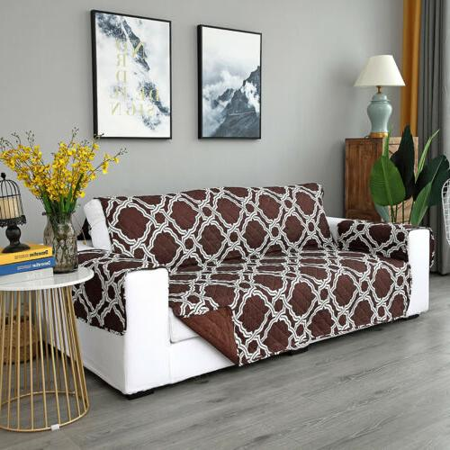 Waterproof Quilted Sofa Cover Couch Furniture Protector