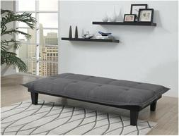 lodge convertible futon couch bed with microfiber
