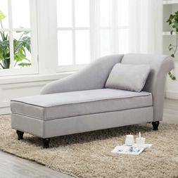 Modern Chaise Lounge Storage Sofa Chair Couch for Living Roo
