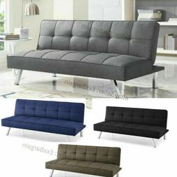 CONVERTIBLE SOFA Bed Lounger Futon Couch Sleeper Loveseat Ch