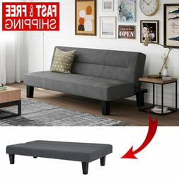 Modern Loveseat Futon Sofa Bed Sleeper Convertible Couch Ful