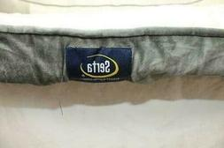 Serta Ortho Foam Couch Style Pet Bed - Gray - Size:XL