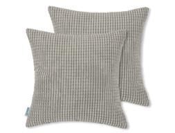 pack of 2 comfy throw pillow covers