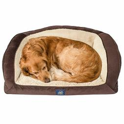 "Serta Perfect Sleeper Camel Back Couch Pet Bed, 40"" x 28"" -"