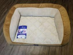 Serta Perfect Sleeper Overside Quilted Couch Pet Dog Bed