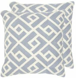 Safavieh Pillow Collection Throw Pillows, 12 by 20-Inch, Swi