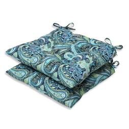 Pillow Perfect Pretty Wrought Iron Seat Cushion