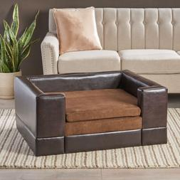 Raised Dog Bed Large Elevated Sofa Pet Puppy Home Couch Cush