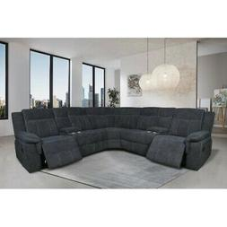 reclining motion sectional home theatre sofa couch