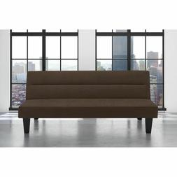 Futon Sofa Full Size Brown Color Bed Set Sleeper Couch Mattr
