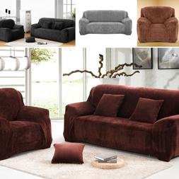 1/2/3 Seater Stretch Chair Sofa Covers Couch Cover Elastic S
