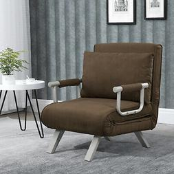 Sofa Bed Arm Chair Convertible Single Dorm Room Couch Reclin