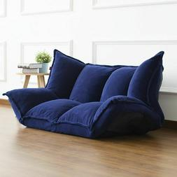 Sofa Bed Floor Furniture Reclining Sleeper Couches Fabric So