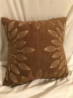 Madison Park Suede Microfiber Throw Pillow for Couch Bed Cho