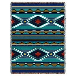 Tapestry Throw Blanket Aztec Southwestern Decor Sofa Couch H