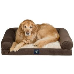 "Serta XL Round Bolster Couch Pet Bed 40""x 30""  New $25 off"